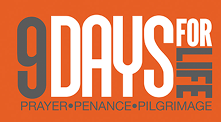 The U.S. bishops are asking Catholics to take part in 9 Days for Life, a nationwide novena leading up to the annual Day of Prayer for the Legal Protection of Unborn Children on Jan. 22. The novena runs from Monday, Jan. 14 through Tuesday, Jan. 22. Each day of the novena highlights a different intention while providing daily reflections, educational information, and suggested acts of reparation. Participants can visit www.9daysforlife.com to get the novena by downloading a free mobile app (with customizable daily reminders), or by signing up for daily email or text messages.