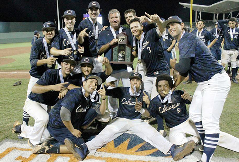 ADOM :: Columbus wins state championship in baseball: http://www.miamiarch.org/CatholicDiocese.php?op=Article_Columbus+wins+state+championship+in+baseball
