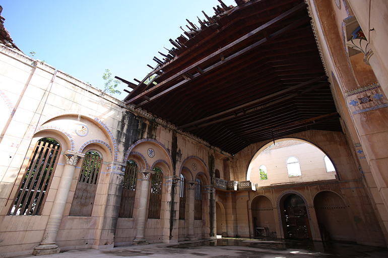 The roofless chapel property at the former Santo Tomas de Villanueva University in Havana was returned to local church custody in 2009, but has not been in use since just after the Bay of Pigs military operation in 1961.