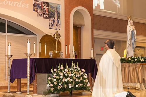 ADOM :: Lourdes comes to Lourdes