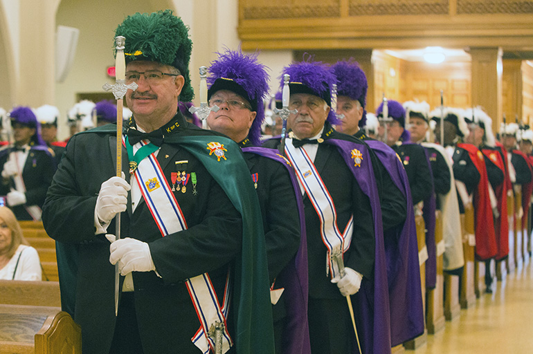 K of C, Knights of Columbus 3rd Degree, District #11 held ...
