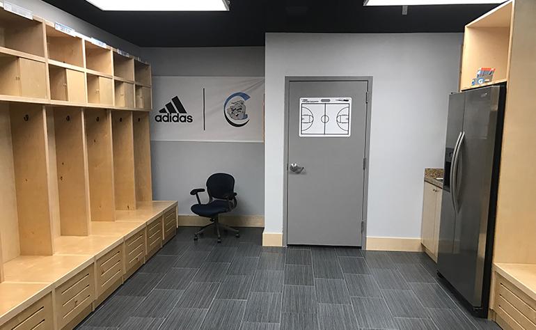 ADOM Carroll High basketball players get new locker room