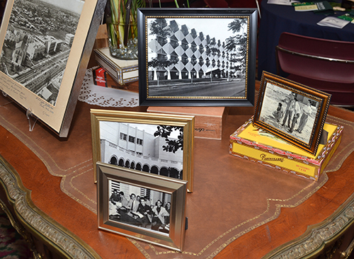 Historic pictures were displayed at the 70th anniversary reception for St. Thomas University.