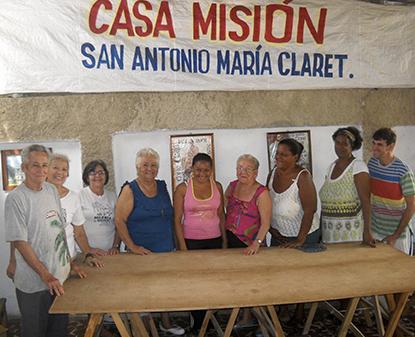 En la Casa Misión San Antonio María Claret, en el barrio Chicharrones de Santiago de Cuba se dictan talleres de costura, se preparan alimentos para personas de la tercera edad y se organizan jornadas de oración