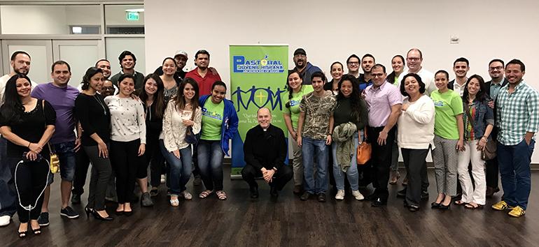 Líderes de los grupos juveniles de diversas parroquias de la Arquidiócesis de Miami compartieron temas de formación cristiana, en un taller patrocinado por la Pastoral Juvenil Hispana de la Arquidiócesis y efectuado el Día de la Candelaria, el 2 de febrero.