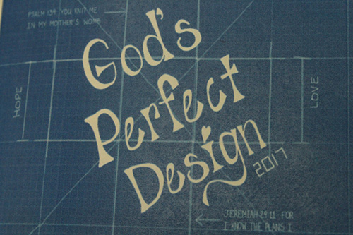 The God's Perfect Design logo.