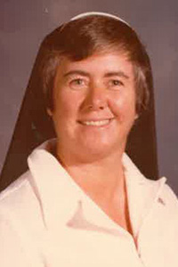 Sister Eilish Murtagh, of the Irish Sisters of Mercy, is pictured here in the late 1970s, when she served as a teacher at St. Luke School in Lake Worth. She died Feb. 12 at age 81.