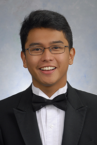 Jose Nicolas Francisco, co-valedictorian, St. Thomas Aquinas High