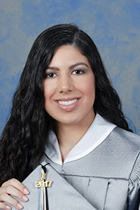Adrianna Zambrano, salutatorian, Archbishop McCarthy High
