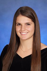 Isabel Romeu, valedictorian, Lourdes Academy