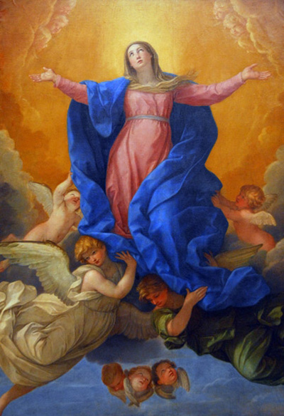The Assumption of Mary: Guido Reni, 1642