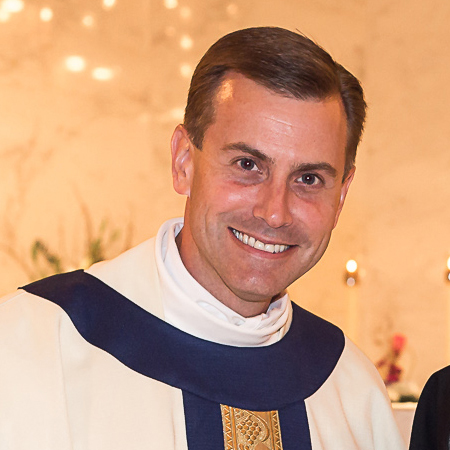 Msgr. David Toups, rector of St. Vincent de Paul Regional Seminary in Boynton Beach.