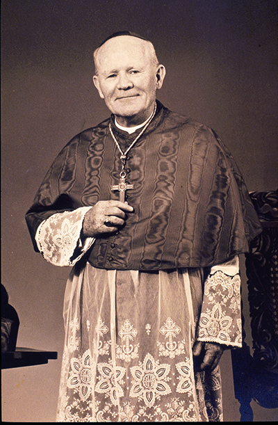Archbishop Joseph P. Hurley, bishop of St. Augustine, Fla.,  from 1940 until his death Oct. 30, 1967, at the age of 73.