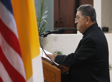 Newly named Auxiliary Bishop for the Archdiocese of Miami, Father Enrique Delgado.