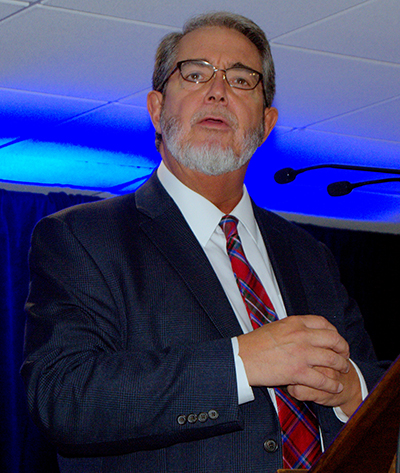 Author Scott Hahn tells of his conversion from Protestantism to the Catholic Church at the Archdiocesan Catechetical Conference.