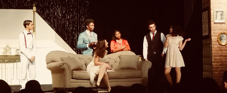 Pace's drama students put on their fall production of F. Scott Fitzgerald's The Great Gatsby.