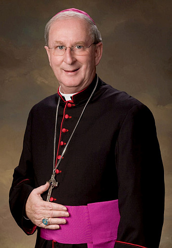 """""""As Pope Francis said, he smelled like the sheep,"""" Bishop John Noonan of Orlando says of Bishop Enrique Delgado. He first met Father Delgado while teaching at Saint John Vianney College Seminary, Miami, when the latter was a student."""