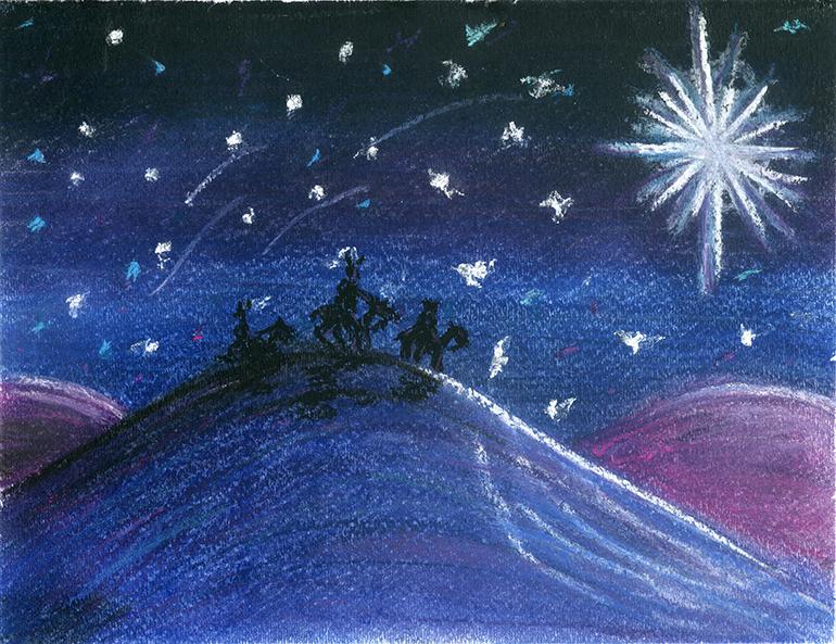 Overall winner, grade K-2 Artist: Jack Wilson, Grade 2, St. Mark School, Southwest Ranches