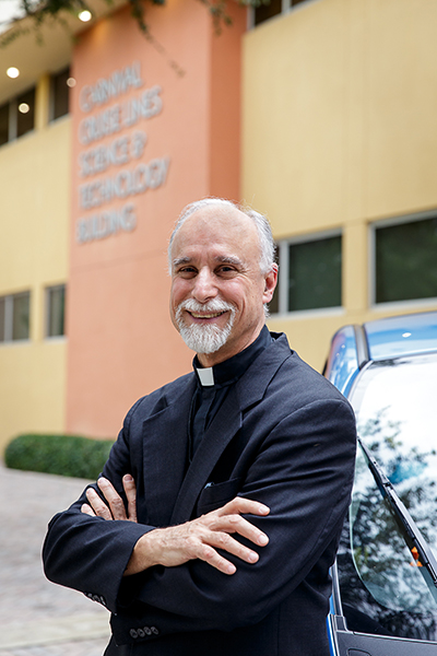 Father Alfred Cioffi, director of the bioethics program at St. Thomas University.