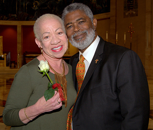 Brenda Dawson, celebrating her 52nd anniversary with husband Deacon Thomas Dawson, said she wished more couples would join marriage ministries.
