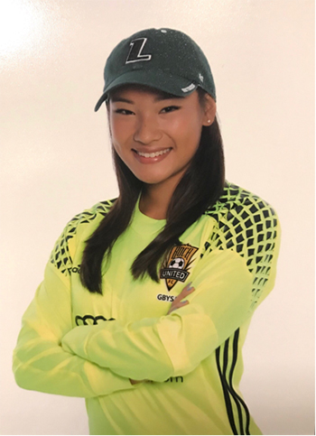 Msgr. Edward Pace High senior Grace Li, who led the girls soccer team with 48 saves her freshman year, has signed an athletic contract to play for Loyola University Maryland women's soccer team