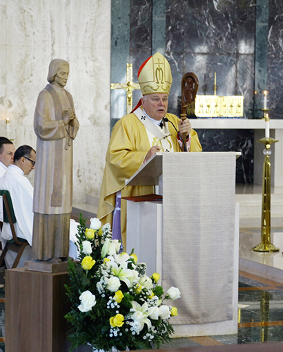 Archbishop Thomas Wenski preached this homily at the graduation ceremony for St. John Vianney College Seminary in Miami, May 9, 2018.