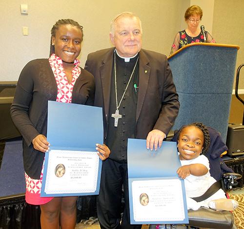Eighth-grade girls get $6000 scholarships