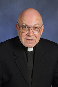 Father William Elbert entered St. John Vianney when it was a high school seminary, and after graduation from Corpus Christi School in Miami.