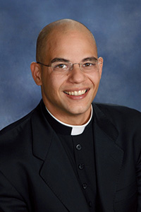 Father Luis Rivero is a graduate of St. Brendan High School, Miami.