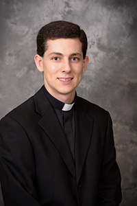 Father Alex Rivera graduated from Our Lady of the Lakes School, Miami Lakes, and St. Thomas Aquinas High School, Fort Lauderdale.