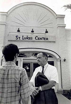 Dr. Ben Sheppard established the first methadone clinic in Miami, named St. Luke's Methadone Drug Treatment Center and operated under the auspices of the Catholic Welfare Bureau (now Catholic Charities).