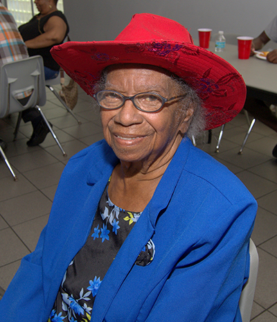 Dorothy Paul, 85, is honored as the matriarch of St. George Church, which is planned for demolition.