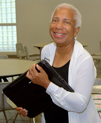 Wilhelmina King pulled together a commemorative service for St. George Church when she heard the building was scheduled for demolition. The service was held Aug. 19.