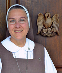 Mother Adela Galindo founded the Servants of the Pierced Hearts in Miami in 1990.