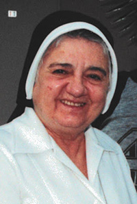 Sister Edita Rojo, a Sister of St. Philip Neri and a physician, became known for her ministry at Genesis House, a residence for people with full-blown AIDS who had nowhere else to go.