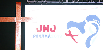 The WYD cross and WYD day logo for Panama 2019.