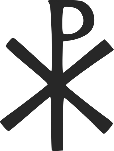 "The Chi Rho: ""In hoc signo vinces!"" (""With this sign thou shalt conquer!"")"
