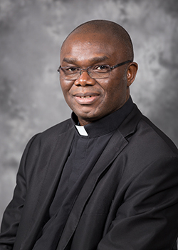 Spiritan Father Fidelis Nwanko, marking 25 years of ordination.