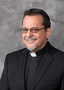 Father Jorge Carvajal-Niño, marking 25 years of ordination.