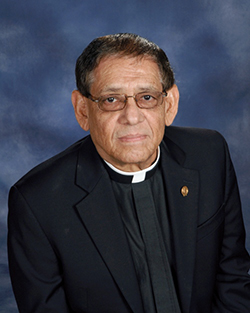 Father William Muñiz, marking 25 years of ordination.