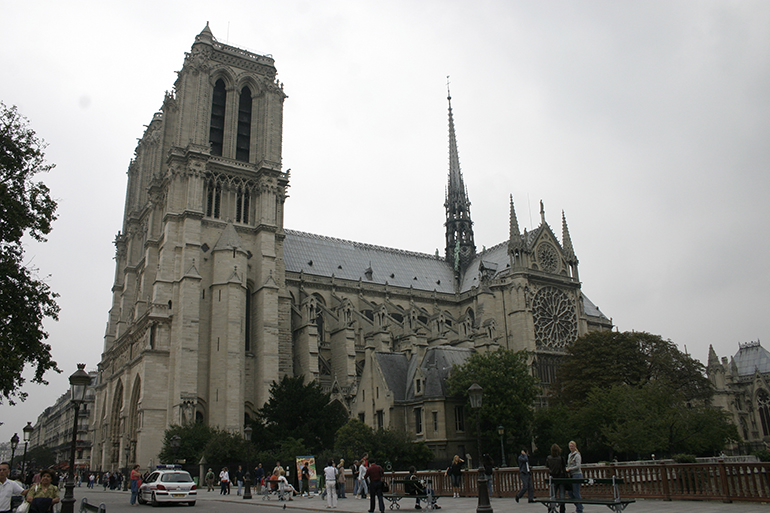 File photo of Notre Dame Cathedral in 2006.