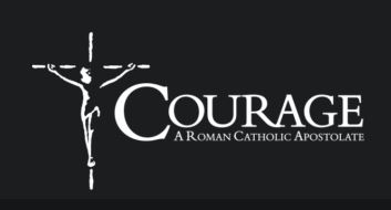 Logo of Courage International, a Catholic ministry to people with same-sex attraction.