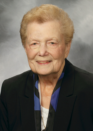Sister Jeanne O'Laughlin, former president of Barry University, died on June 18. She also was chancellor at the university for another five.