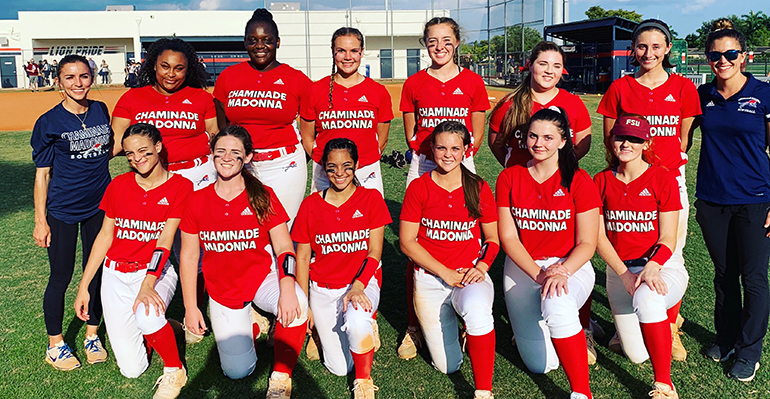 Chaminade-Madonna's softball team won District 7-4A, falling to state finalist Miami Westminster Christian 10-0 in the Region 4 final.