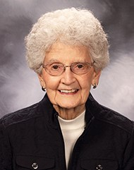 Sister Jeanne Burns, 90, of the Adrian Dominicans, served six years as principal of St. James School, North Miami. She died July 18, 2019, after 71 years in religious life.