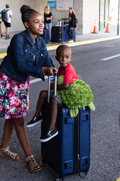 More than 200 visa-carrying Bahamas evacuees arrived Sept. 18 at the Port of Palm Beach following the category 5 Hurricane Dorian. The Florida-based Bahamas Paradise Cruise Line concluded its second humanitarian round trip mission by providing the transportation from Florida to Freeport, Grand Bahama, bringing along some 400 volunteers, first responders and search & rescue workers.