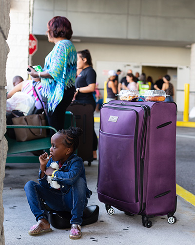 More than 200 visa-carrying Bahamas evacuees arrived Sept. 18 at the Port of Palm Beach following the category 5 Hurricane Dorian on the Florida-based Bahamas Paradise Cruise Line . The ship also brought along some 400 volunteers, first responders and search & rescue workers.