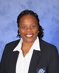 Floredenis Brown has been named principal of Holy Rosary-St. Richard School, Cutler Bay, where she worked as assistant principal last year.
