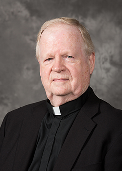 Trinitarian Father William Sullivan is administrator of Our Lady of the Holy Rosary-St. Richard Church in Miami.
