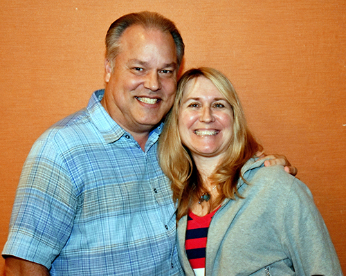 Jay and Karen Pietrafetta of St. Anthony Church, Fort Lauderdale, have been attending the archdiocesan Catechetical Conferences for about a decade.